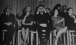 Druhý literární kabaret / 2. literarisches Cabaret, 15.4.1959 (c) Gerhard Rühm