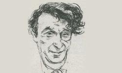 Zeichnung von Emil Orlik 1926